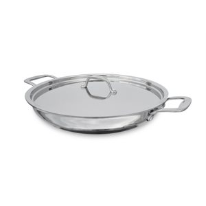 "PAN, PAELLA, INDUCTION, 12"", WITH LID"